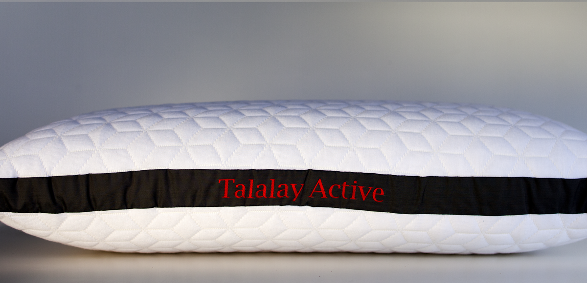 The Talalay Active Pillow From Pure Talalay Bliss
